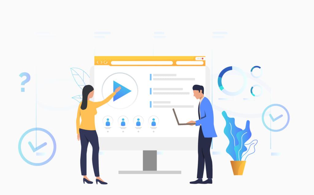 Mách bạn cách nâng cao trải nghiệm học viên khi đào tạo qua video, lms learningware